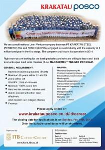 Rekrutmen KP 2012 oleh ITB CC, Efisiensi Waktu 99%